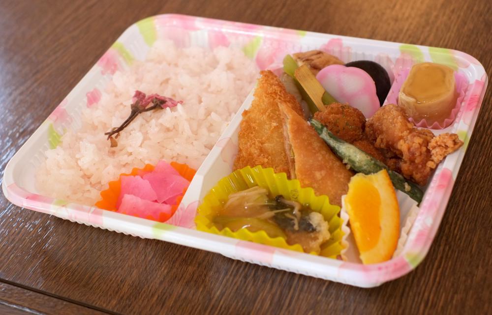 お花見に清流庵のお弁当はいかがですか:画像