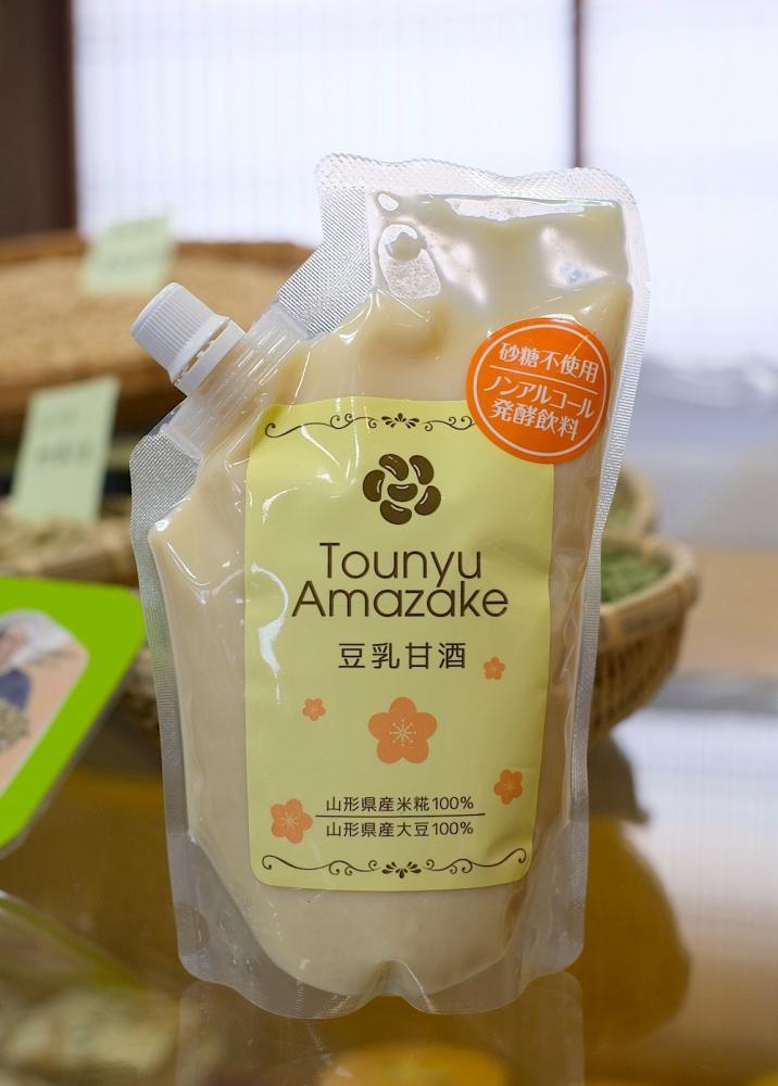 新商品の〈豆乳甘酒〉を販売いたしました!:画像