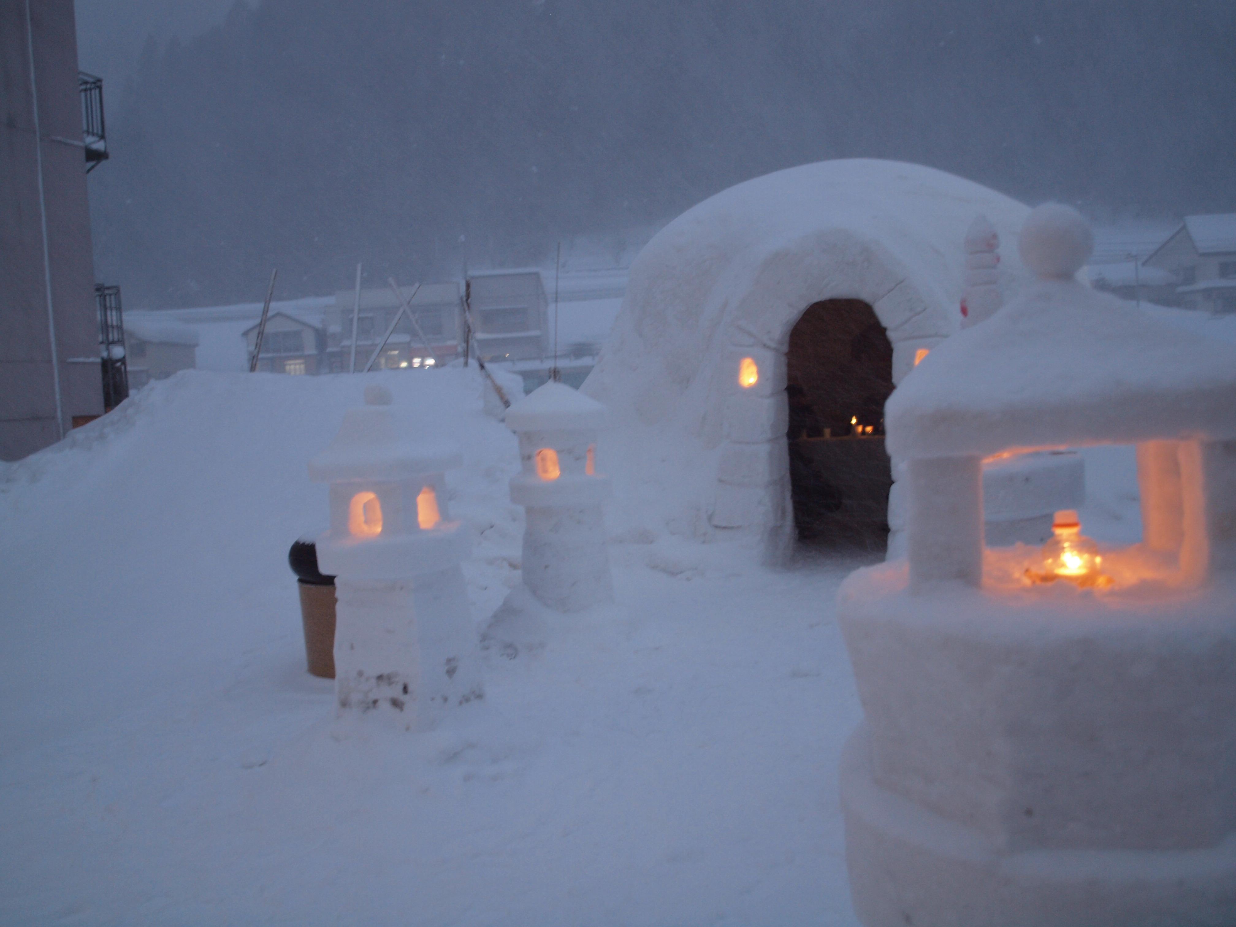 瀬見温泉 雪まつり、開催日程変更のお知らせ:画像