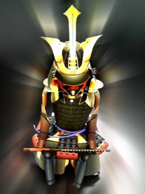 ペーパークラフト甲冑!?