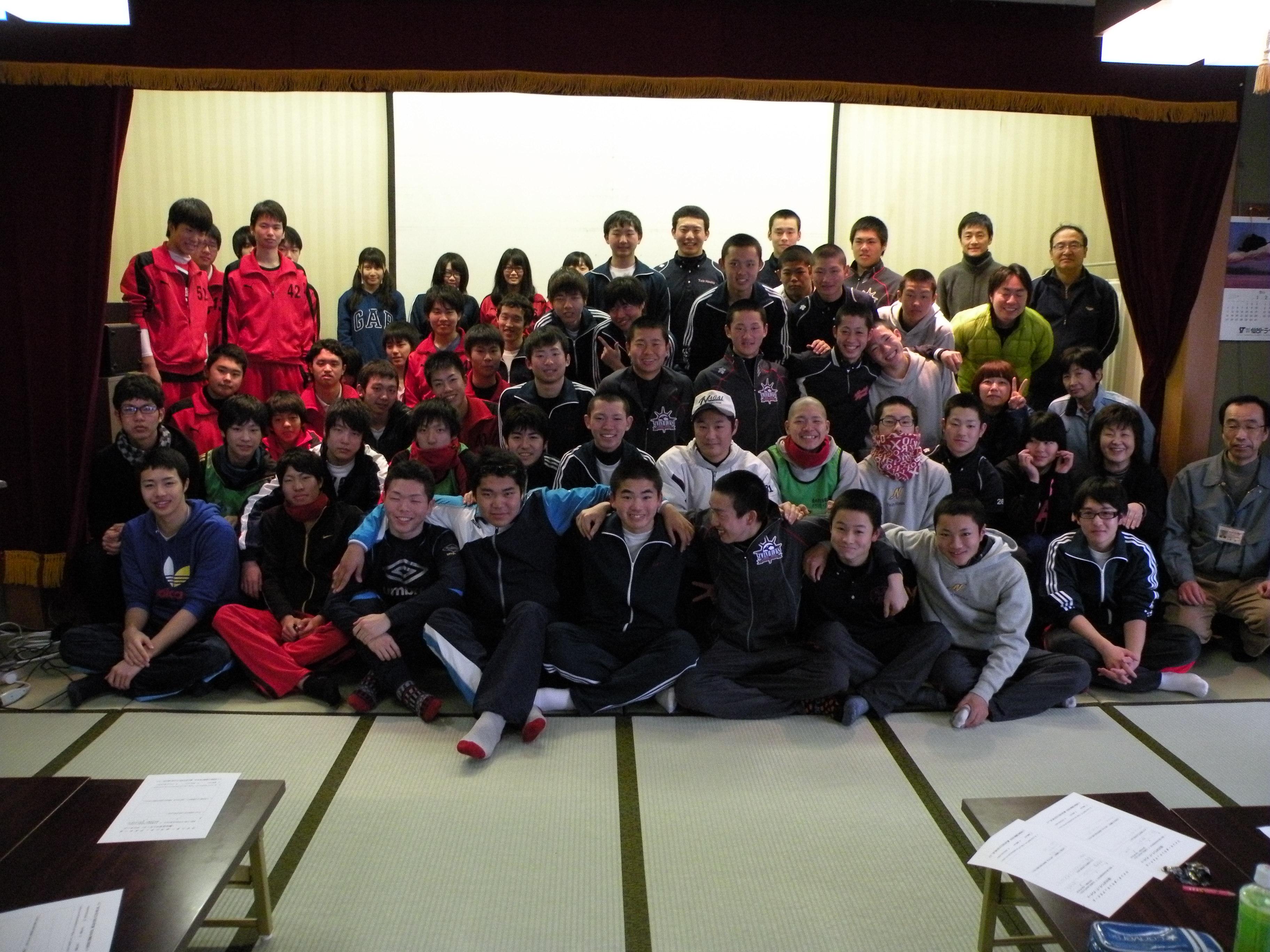 ウィンターボランティアスクールが開催されました。