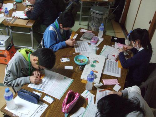 長井市ジュニアリーダー冬期研修会 福祉教室を開催!