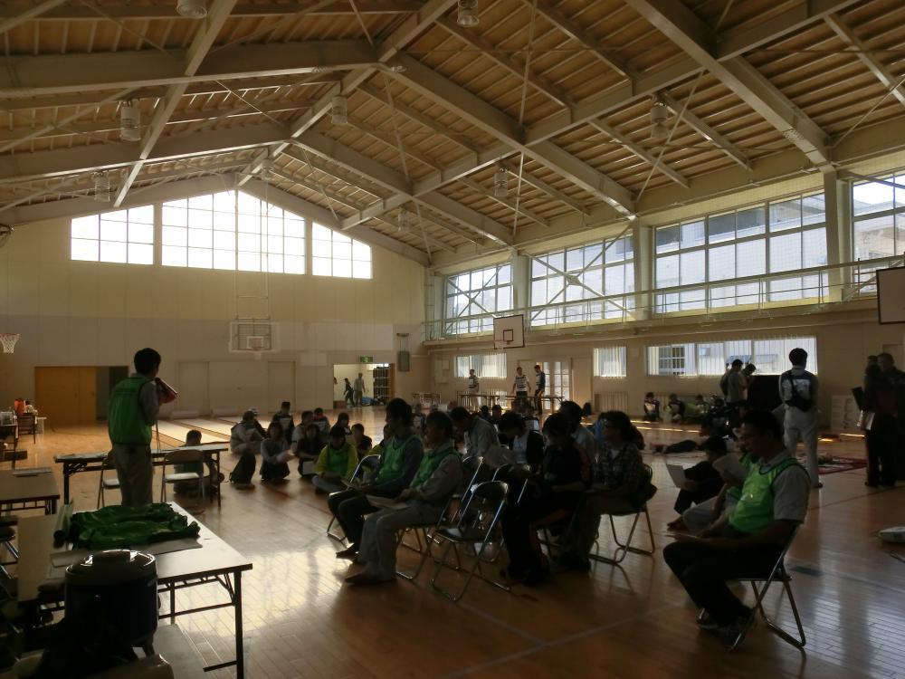 災害ボランティアセンター設置運営訓練を行いました。:画像