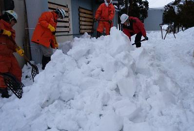 那須建設(株)様 除雪ボランティアありがとうございました!