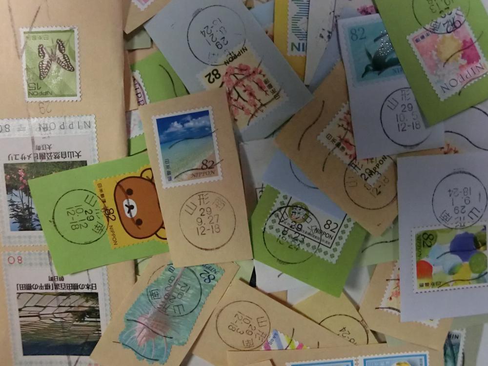 「使用済み切手」を集めています。:画像