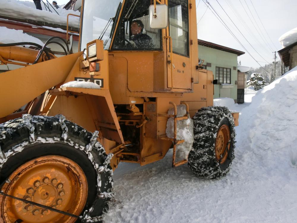 (株)山市 様、長井環境(株)様 雪下しボランティアありがとうございました:画像