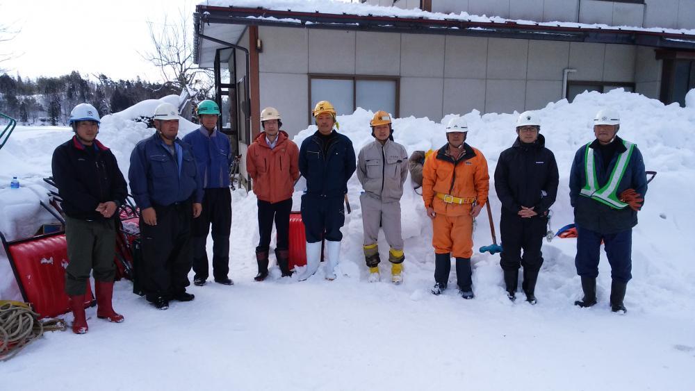 長井市建設業除雪ボランティア協議会様 2回目の活動ありがとうございました。:画像