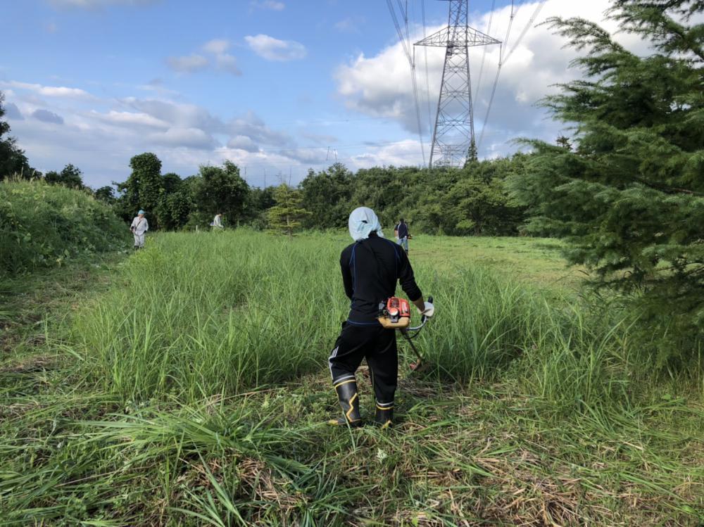 【燦燦(さんさん)会】さん 今年2回目の草刈りありがとうございました。:画像