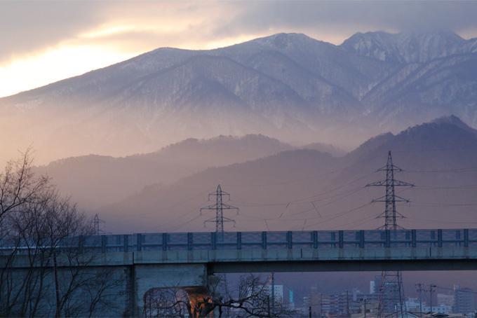 今朝の蔵王山系「雁戸山」の図である。