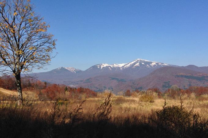 2016 立冬の月山