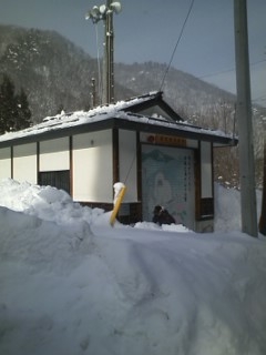 2011/01/12 13:06/雪下ろし�