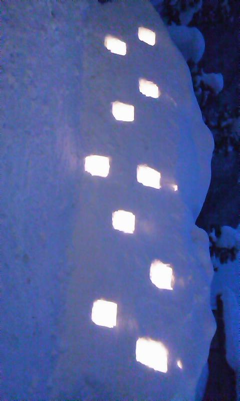2011/01/21 17:36/雪洞