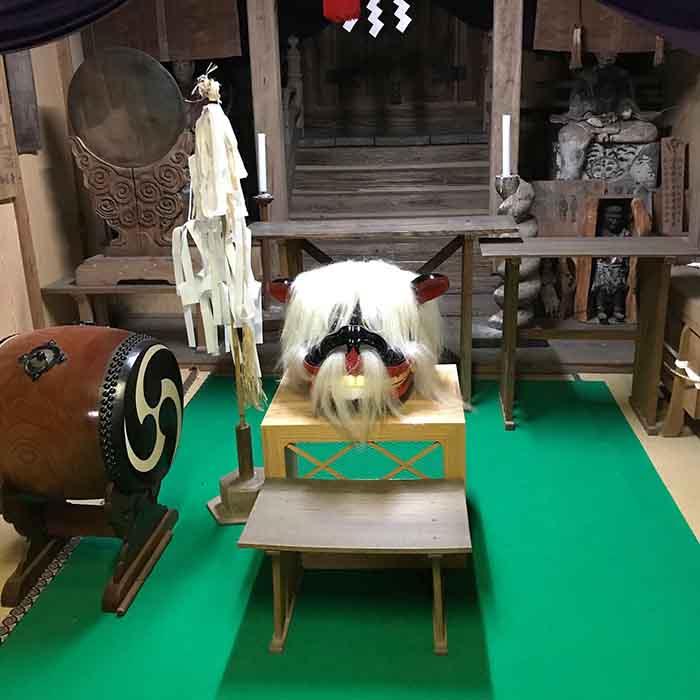 五所神社で入魂式