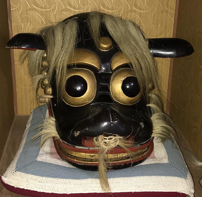 飯豊町の猿田彦神社の獅子見分