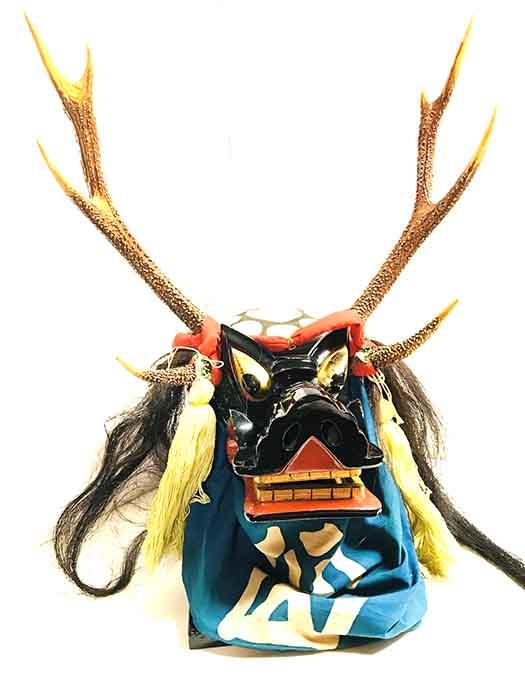 岩手の鹿頭