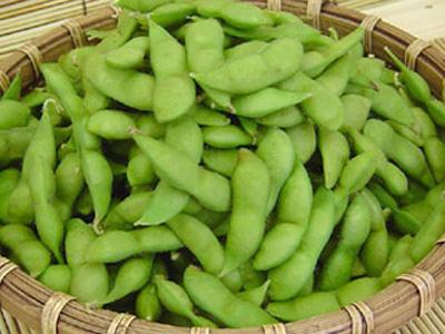 【買】県内産秘伝豆,茶豆|1t:画像