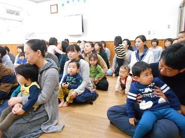 育児講座で「小さな音楽会」
