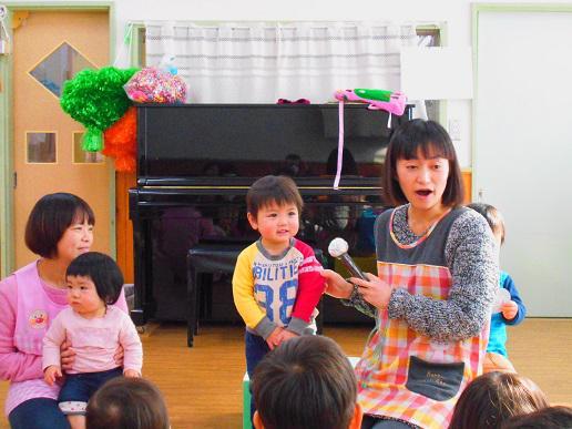 1月生まれのお誕生会