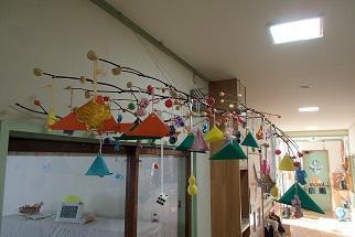 団子の木飾り