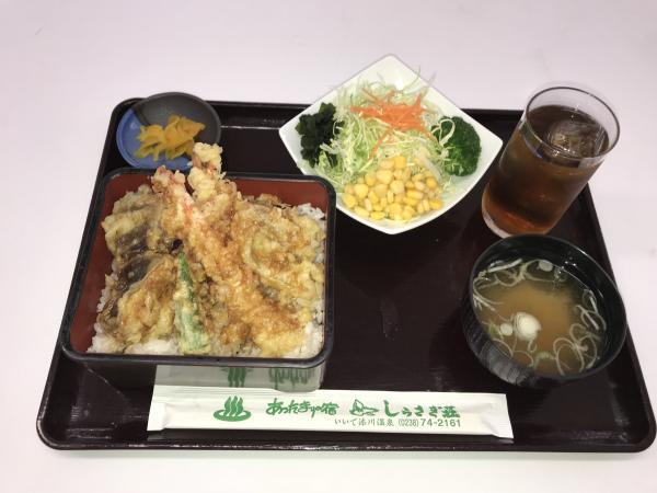 今週のお薦めランチは天丼!!:画像