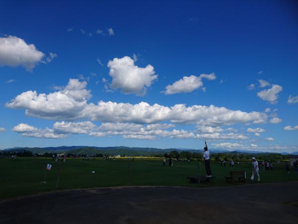 しらさぎ荘ゲートボール大会!:画像