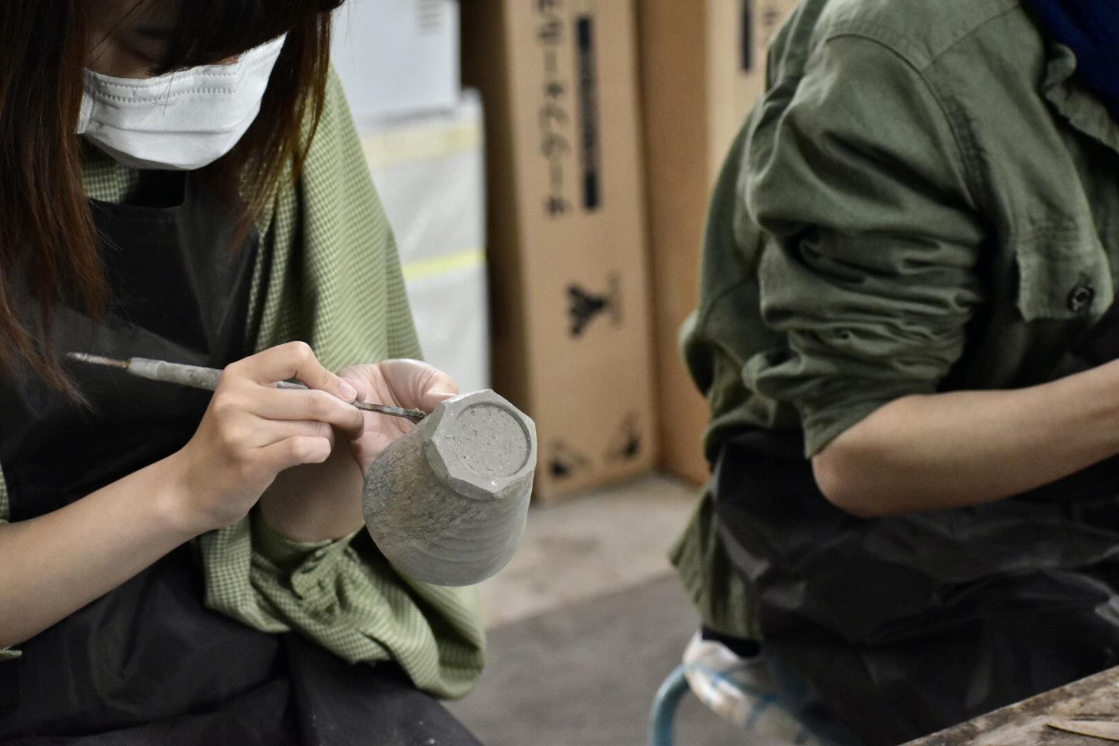 『蔵王で、陶芸教室!』