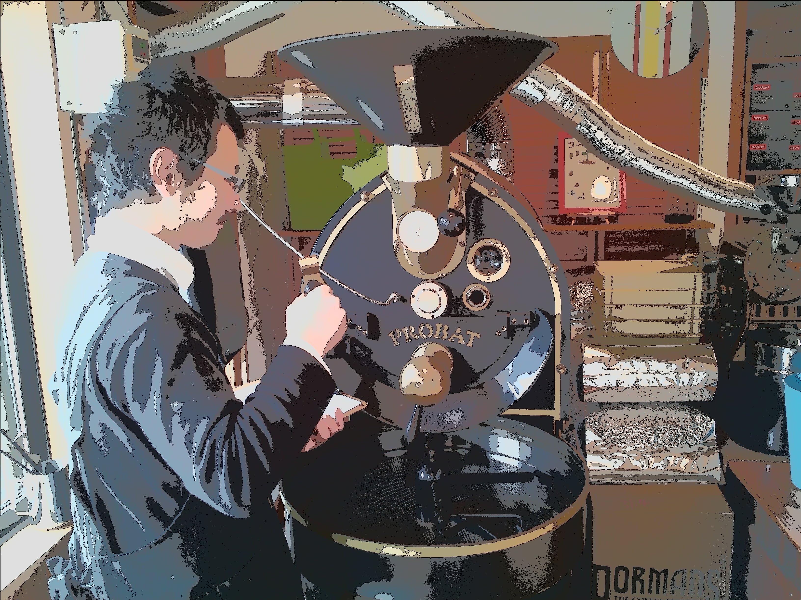 コーヒーの季節!連日怒涛の焙煎が続きます!