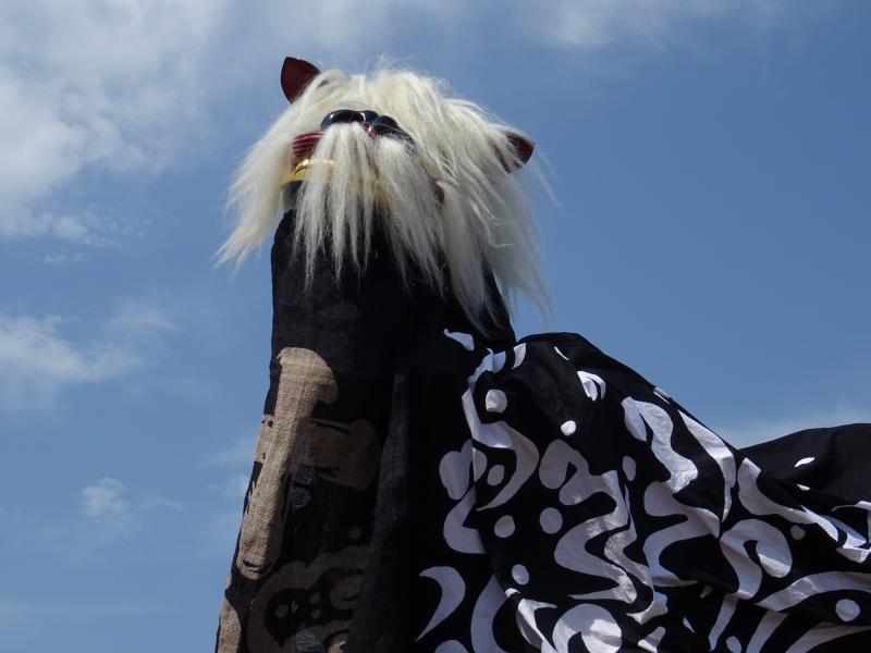第28回ながい黒獅子まつりが開催されました(5月20日):画像