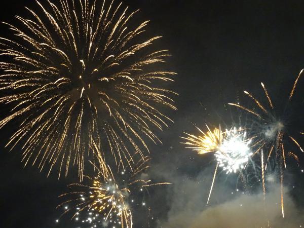 ながい水まつり・最上川花火大会が開催されました!:画像