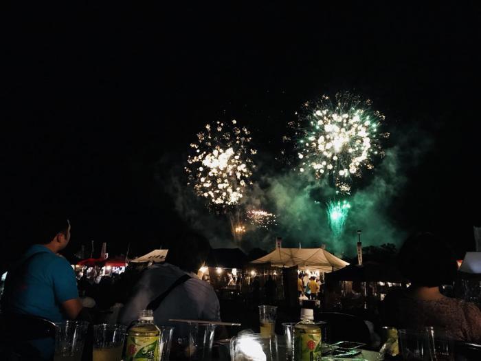 Long Wed Festival / Mogami River fireworks display was held: Image