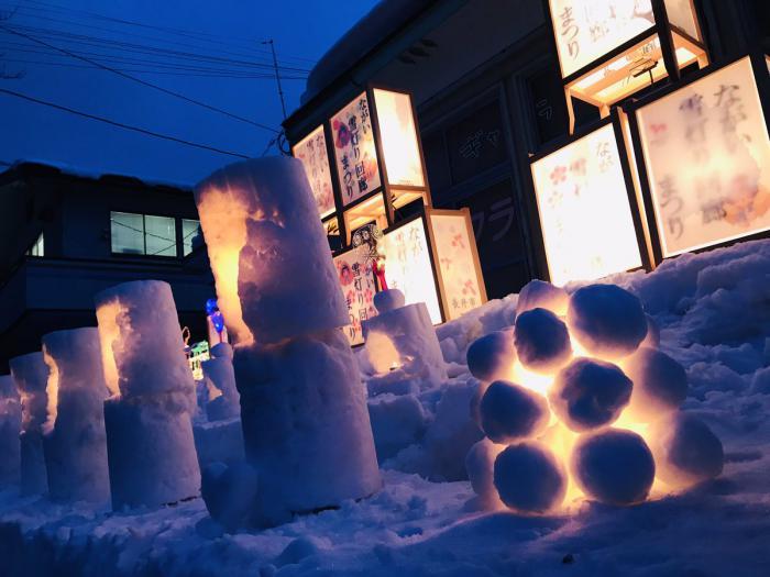 第16回 ながい雪灯り回廊まつり2019が開催されました:画像