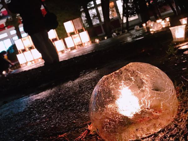 ながい雪灯り回廊まつり2020が開催されました!:画像