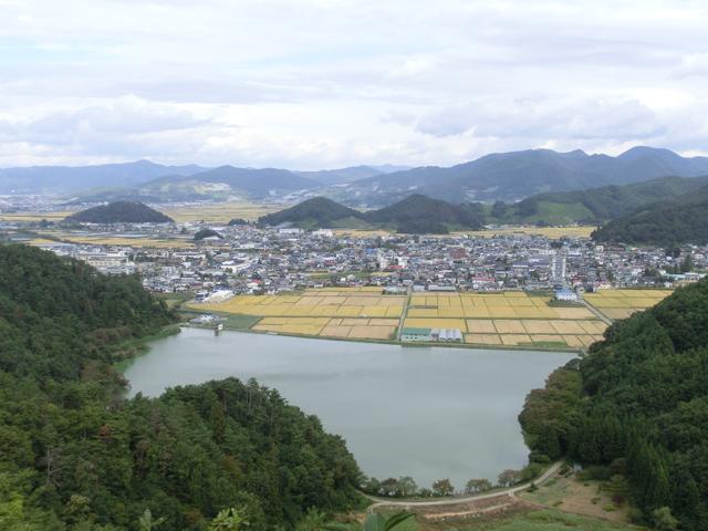 鈴沼奥毘沙門山からの眺め :画像
