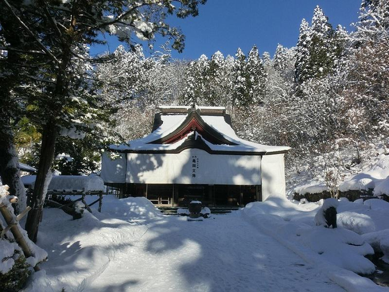 "New Year's visit to a Shinto shrine come to God ""Monju Kameoka"" of study by all means: Image"
