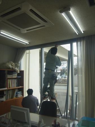 FIX3連窓の内側にエコ窓を設置/