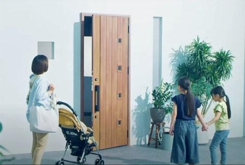 2020/10/31 08:15/今ある玄関ドアが自動でオープン!