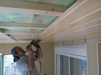 【郡山市・Tさん宅の増築 】 無垢の床、壁、天井:画像