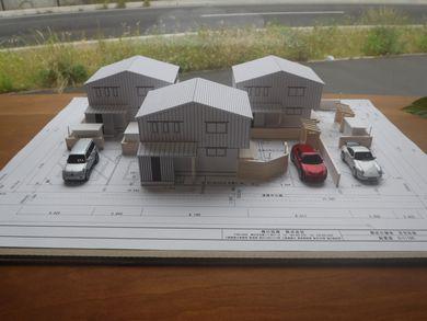 『庭と畑と木の家〜開成四丁目分譲プロジェクト〜』 設計作業大詰め:画像