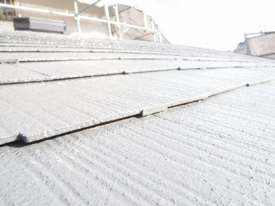 【郡山市台新・Sさん宅の改造 /Yu工房 】コロニアル屋根の塗替え:画像