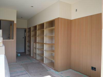 【郡山市台新・Sさん宅の改造 】壁面収納:画像