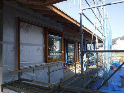 【福島市渡利・I邸/伊礼智設計室】 性能よく操作性も良い、木製サッシ:画像