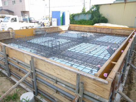 【郡山市久留米・ドミノK邸 】 木造ドミノ住宅の要〜基礎�〜:画像