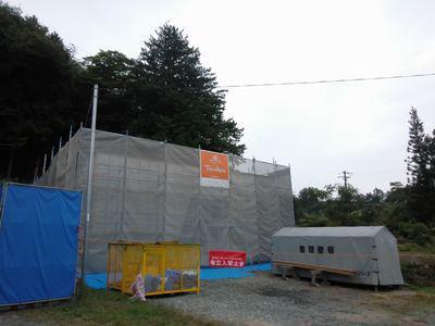 「田村市常葉町・シンプルノートI邸」 シートの中は・・・:画像