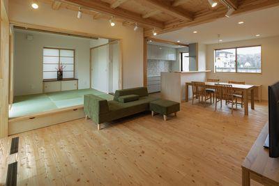 【PHOTO gallery】「内観-1」福島市桜本・ドミノS邸