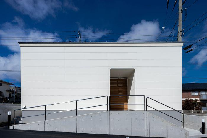 【PHOTO gallery】郡山市七ツ池町・シンプルノートS邸「外観」:画像