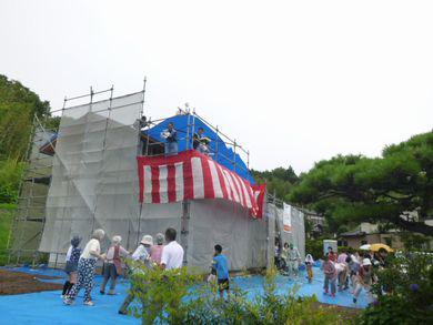 【天栄村・G邸 】 記憶に残る上棟式:画像