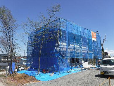 【郡山市富久山・ドミノA邸 】 上棟後のドミノ空間が、いいんですよ:画像
