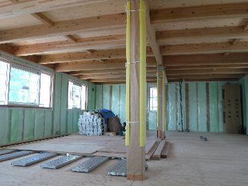【郡山市富久山・ドミノA邸 】 木造ドミノの真髄を見て頂きました:画像