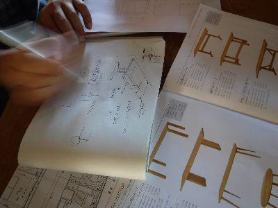 【郡山市開成・ドミノS邸】 ダイニングテーブル製作に向けて(1):画像