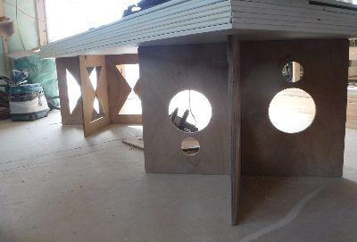 【郡山市新屋敷・ドミノI邸 】 大工の個性あふれる作業台:画像
